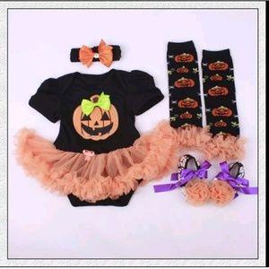 Other - Happy Halloween Little Pumpkin NEW